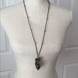 Jewelry - Double Heart Pendant Necklace